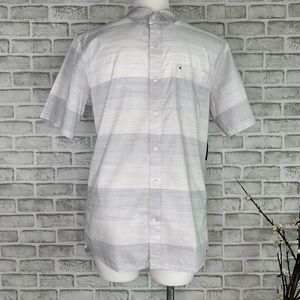 "Hurley Men's "" Morris"" Short Sleeve Button Up"